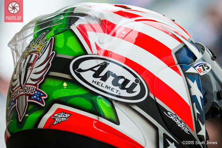 Nicky Hayden Arai helmet