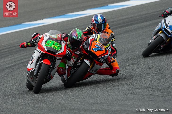 Ant West Simoni Corsi Moto2 Jerez 2014 Tony Goldsmith