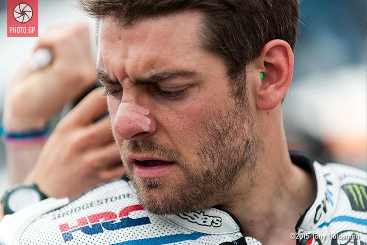 Cal Crutchlow grid Jerez 2015 Tony Goldsmith