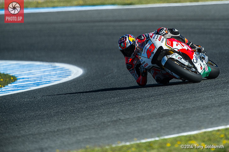 Jerez 2015 Saturday Tony Goldsmith Jack Miller LCR Honda