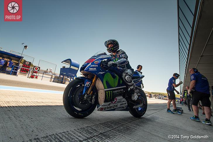 Jerez 2015 Saturday Tony Goldsmith Jorge Lorenzo Yamaha