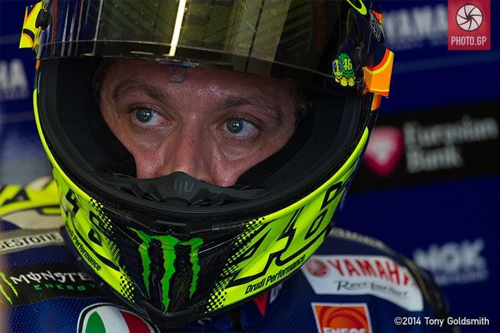 Jerez 2015 Saturday Tony Goldsmith Valentino Rossi Yamaha