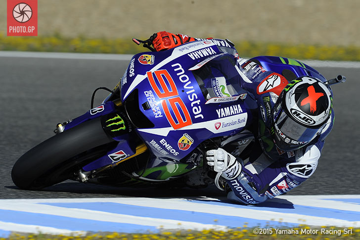 Jerez MotoGP 2015: Jorge Lorenzo Fastest on Friday - Photo.GP