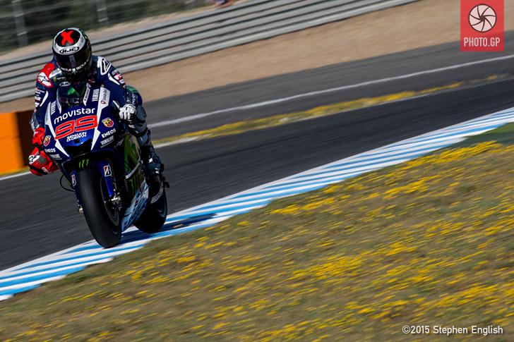 Jorge Lorenzo Movistar Yamaha Jerez 2015 Stephen English