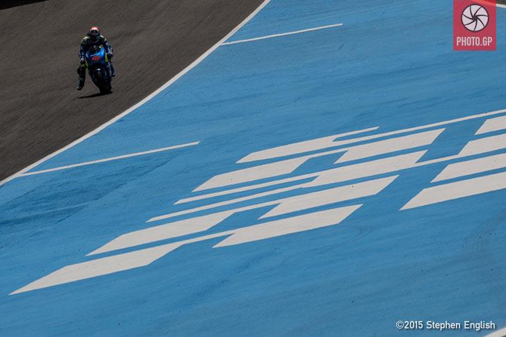 Maverick Vinales Suzuki Jerez 2015 Stephen English