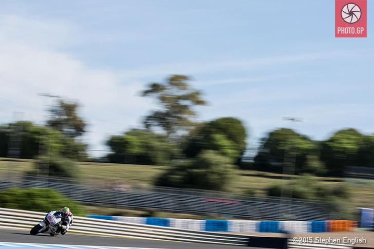 Nicky Hayden Apsar Honda Jerez 2015 Stephen English