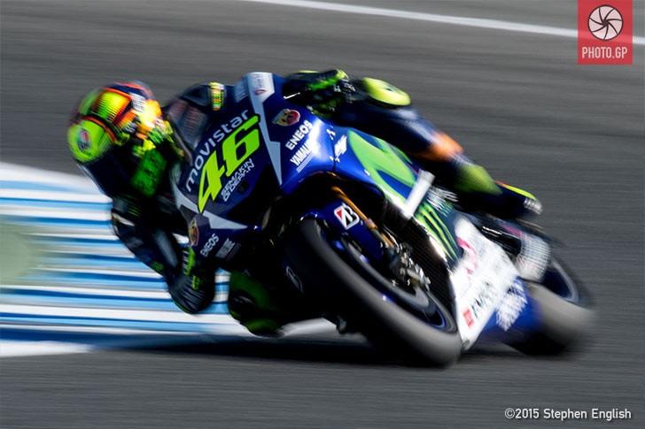 Valentino Rossi Jerez 2015 Movistar Yamaha Stephen English