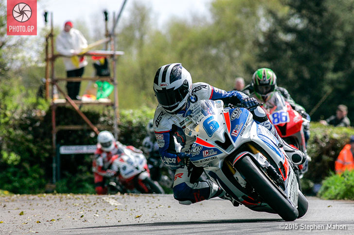 William Dunlop at Cookstown 100 Stephen Mahon