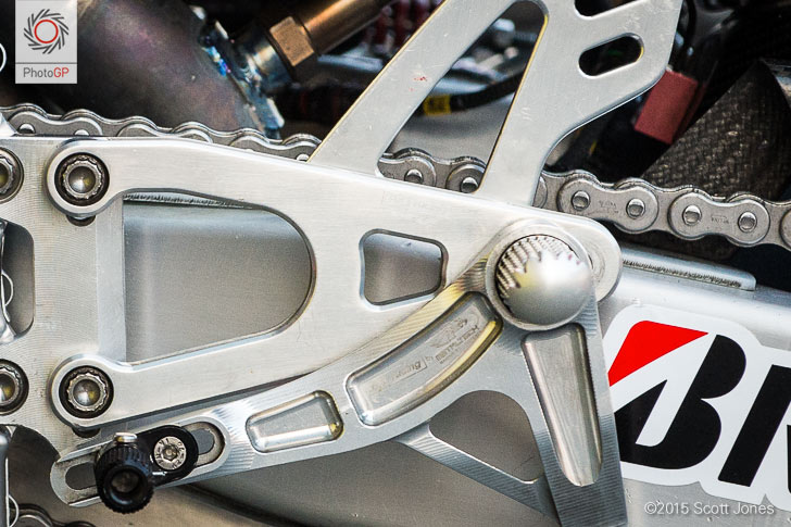 Aprilia RS-GP chain drive
