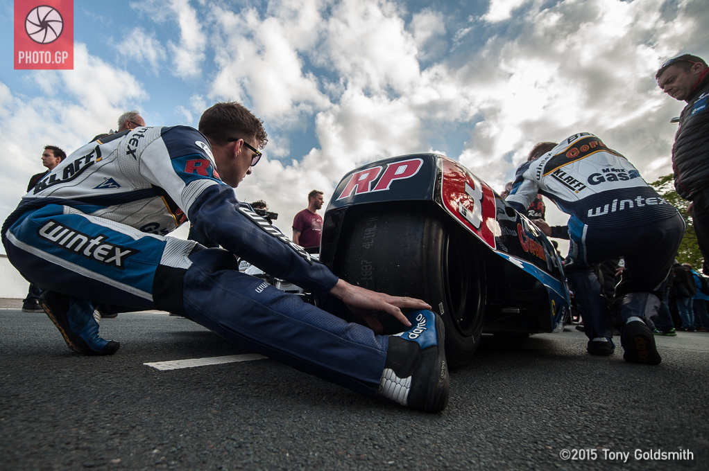 Ben and Tom Birchill Isle of Man TT 2015