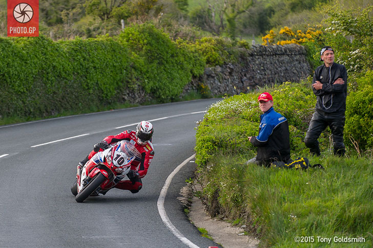 Conor Cummins Isle of Man TT 2015
