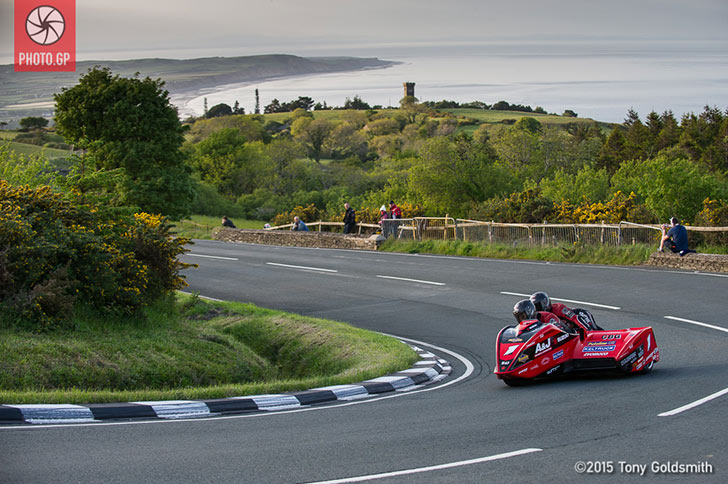 Dave Molyneux Ben Binns Isle of Man TT 2015