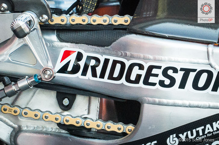 Honda RC213V chain drive