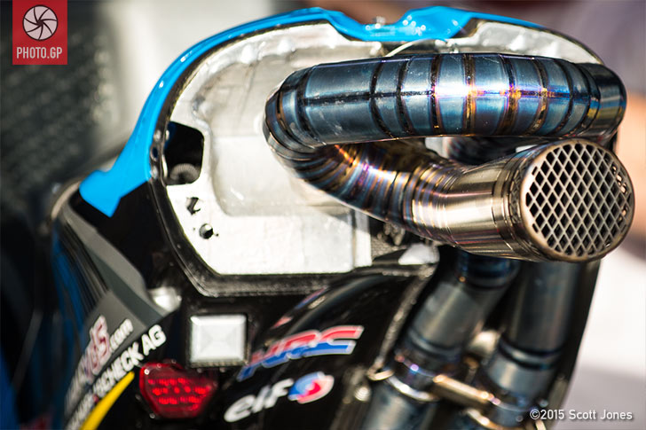 Honda RC213V exhaust
