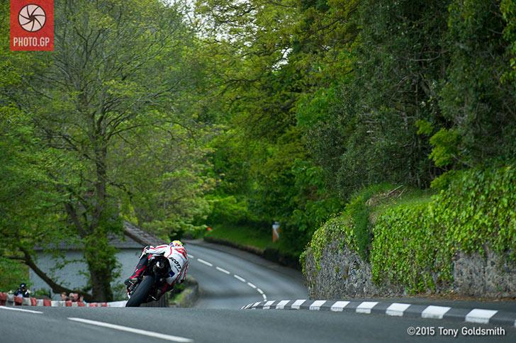 Jamie Hamilton Isle of Man TT 2015