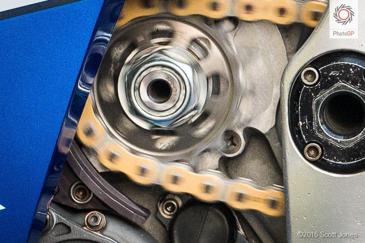 Suzuki GSX-RR chain runner