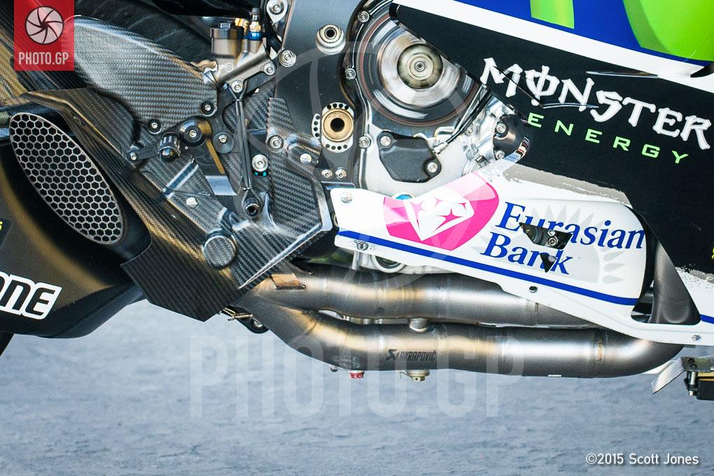 Yamaha Yzr M1 Exhaust Design Photo Gp
