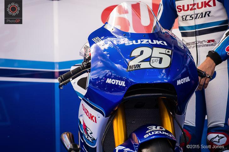 30th anniversary Suzuki GXS-RR MotoGP Sachsenring Vinales 34