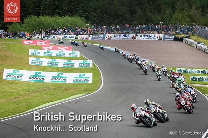 BSB Knockhill 2015 Superbike race 1