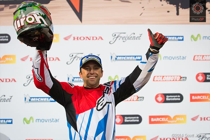 Kenny Noyes Superprestigio II Podium 2014