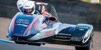 Knockhill BSB sidecars Andrew Sloane LCR Suzuki