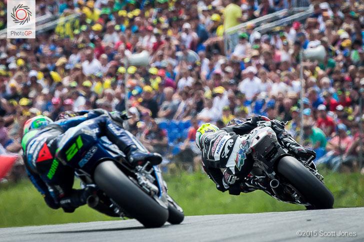 Sachsenring 2015 Moto2 Johan Zarco Morbidelli