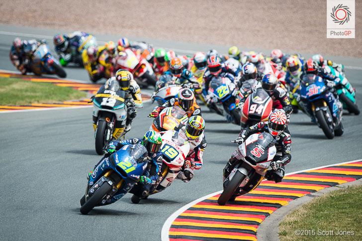 Sachsenring 2015 Moto2 lap 1