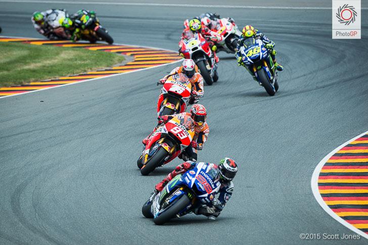 Sachsenring 2015 lap 2 MotoGP