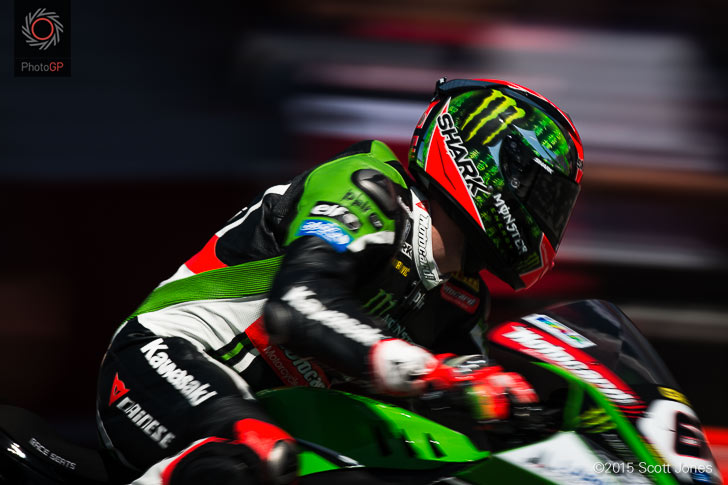 Tom Sykes Kawasaki WSBK 2015 Laguna Seca