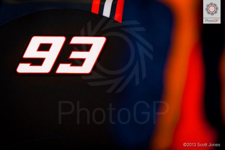 Marc Marquez 93 Silverstone 2013