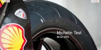 Brno Michelin Test 2015 Ducati Intermediate rear
