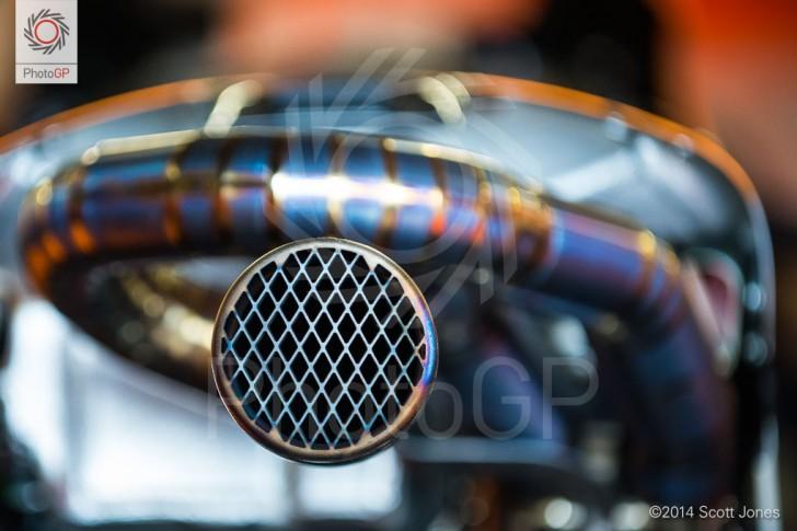 Honda RC213V Exhaust Silverstone 2014