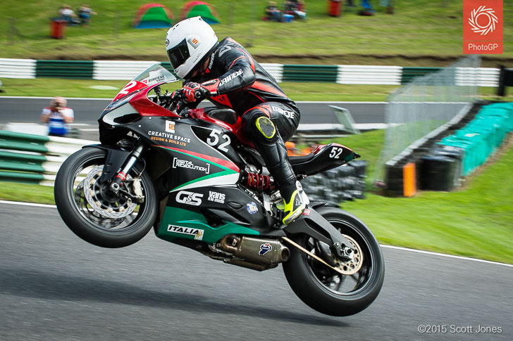 James Shaw Ducati TriOptions Cup Cadwell 2015