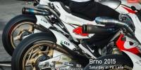 LCR Hondas pit lane Brno 2015