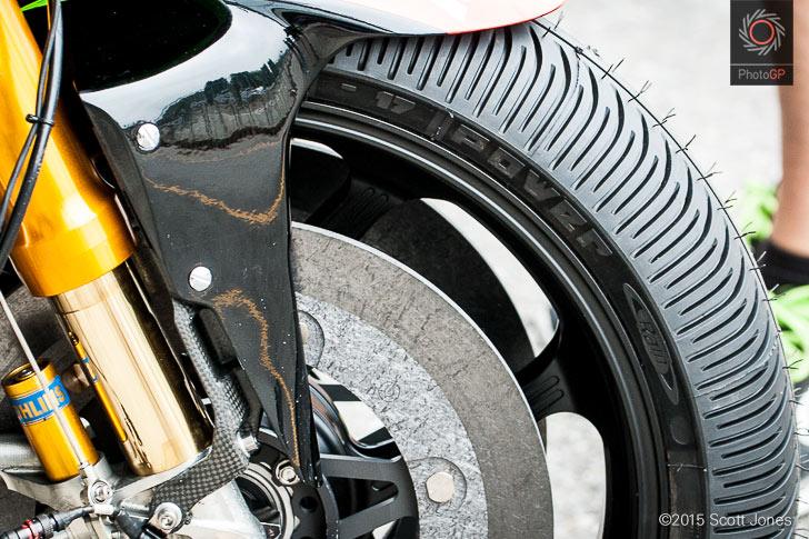 Michelin front rain tire