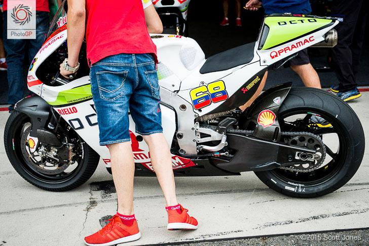 Pramac Ducati Michelins intermediates