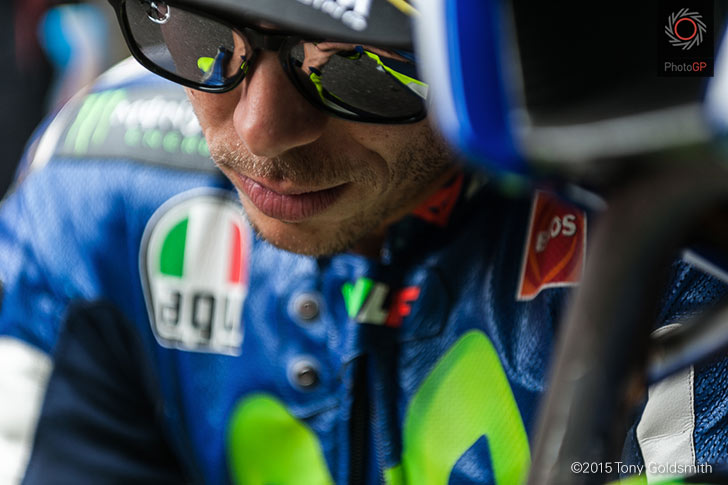 Valentino Rossi grid 2015 IMS Tony Goldsmith