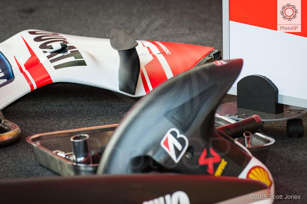 Honda Dreams of Banning Ducatis Winglets - autoevolution