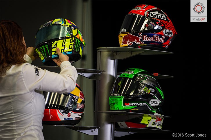 CotA-MotoGP-Press-Conference-2016-helmets