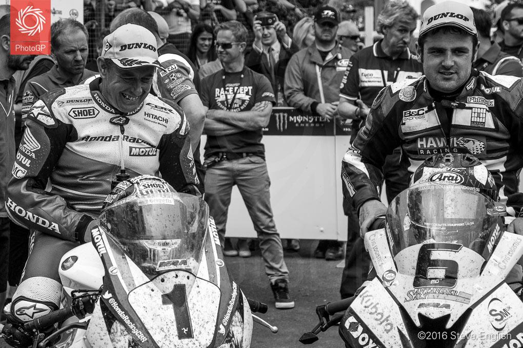 IoMTT-2016-Superbike-race-1-John-McGuinness-Michael-Dunlop-paddock